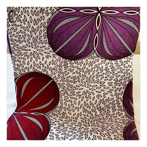 African Fabric Lilac