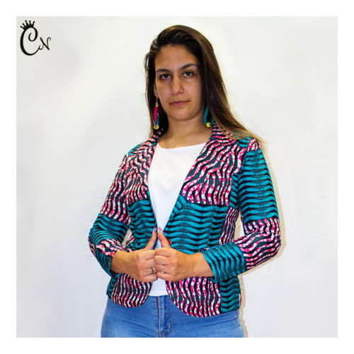 Pink and Blue Jacket