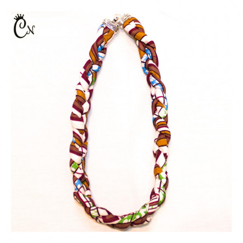 Intertwined Brown Necklace