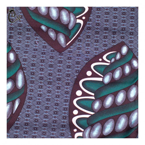 Lilac and Purple African Fabric