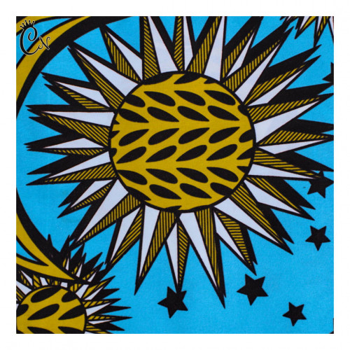 Sun and Moon African Fabric